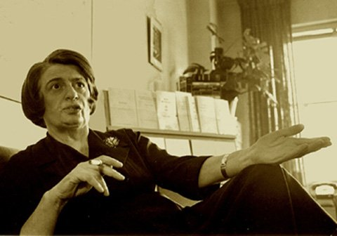 Ayn Rand Smoking While Collecting Medicare